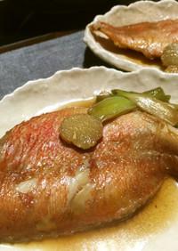 簡単♪魚の煮付け(赤魚、カレイ、タラ)