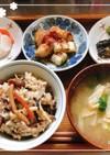 簡単土鍋ご飯・作り置きひじき煮のリメイク
