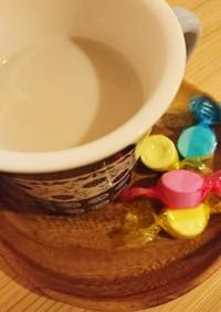 カフェラテ風麦茶♪