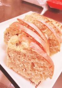 【離乳食後期9ヶ月〜】バナナケーキ