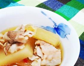 めんつゆで作る大根と豚バラの簡単煮物