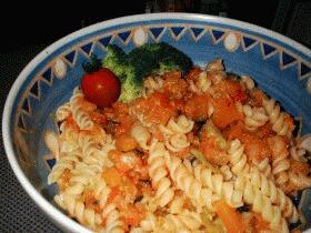 トマトソースなマカロニ