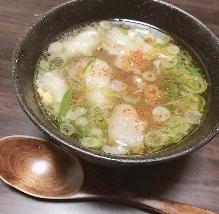 あったか牛脂スープ☆風邪予防にも♫