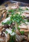 冷や汁の素で作る白菜ちゃんちゃん焼き風