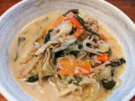 【給食マネ】みそラーメンのスープ