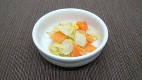 白菜の胡麻酢和え【認可保育園の給食】