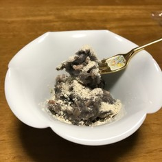 黒豆ミルク餅