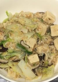 干し海老と高野豆腐の海老醤煮