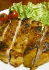 チキンの塩麹カレー焼き