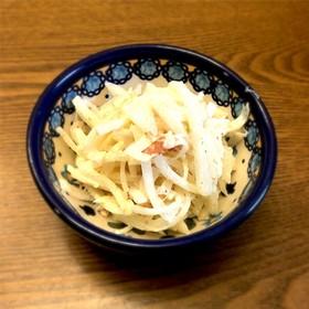 まるでツナ入り?簡単美味しい!大根サラダ