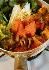 ヨウサマの減塩トマト鍋