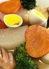 【給食レシピ】彩り鮮やか洋風おでん