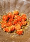 ミニトマトの胡麻和え