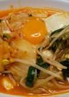 キムチ鍋風【簡単】味噌スンドゥブチゲ