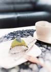 超簡単♡おから抹茶ベイクドチーズケーキ♡