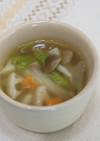 冬野菜のほっこりスープ