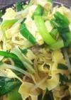 簡単中華・干し豆腐のニラモヤシ炒め