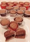 ジプロック簡単大量!カップ生チョコサンド