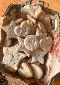 酒粕とすりごまのクッキー