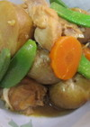 新じゃがと鶏肉の味噌煮(圧力鍋)