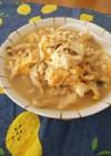 【低脂肪/低糖質】豆腐ときのこの卵雑炊