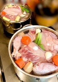 本格!鶏白湯スープ