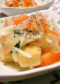 高野豆腐の❤スイートレモンマリネ