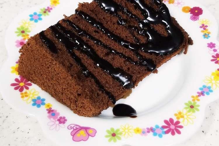 ケーキ チョコレート シフォン