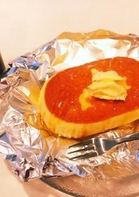 わたしのおやつ @北海道チーズ蒸しケーキ