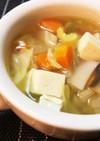 簡単!こくうま☆豆腐入りコンソメスープ