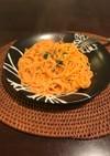 超簡単☆蟹の黄金パスタ