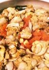 カレーチキン蒸し鍋