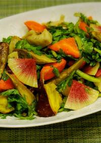 根菜のローストサラダ