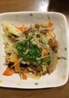 カット野菜と納豆だけ!簡単炒め