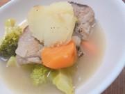 野菜とお肉の白ワイン煮の写真