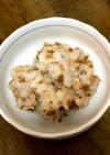 長芋と鶏そぼろのサラダ