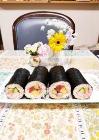恵方巻き2020~海鮮&サラダ巻き