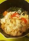 キムチチーズ鍋