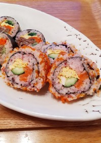とびこの巻き寿司