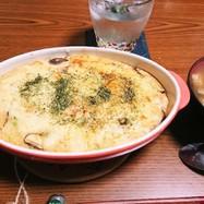 山芋とお豆腐のとろとろグラタン
