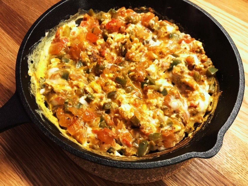 【ロンドン発】トルコ風卵料理:メネメン