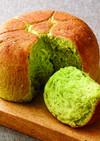 炊飯器で作る桑抹茶のちぎりパン