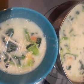 朝のご飯にも時短!簡単!クリームスープ