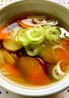 薩摩芋とえのきの優しいコンソメスープ♡