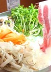 長寿牡蠣だしの豆乳豚シャブ