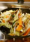 最速のカット野菜の焼きそばR