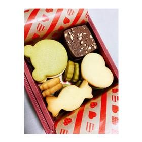 バレンタインに!簡単3種のクッキー缶★