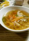 無限!ラーメンの野菜たちだけスープ