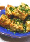 簡単節約ベジおかず☆高野豆腐の青のり焼き