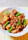 馬鈴薯と豚ばら肉の煮物